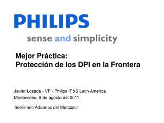 Mejor Pr�ctica:  Protecci�n de los DPI en la Frontera