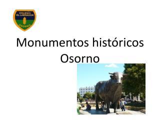 Monumentos históricos Osorno