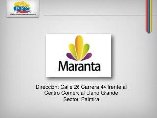 Dirección : Calle 26 Carrera 44 frente al Centro Comercial Llano Grande Sector: Palmira