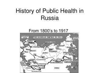History of Public Health in Russia