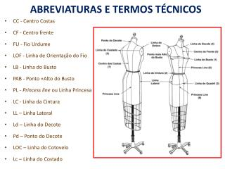 ABREVIATURAS E TERMOS TÉCNICOS