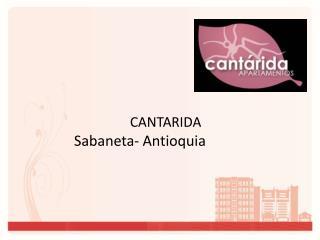 CANTARIDA Sabaneta - Antioquia