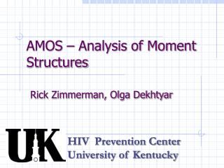 AMOS   Analysis of Moment Structures