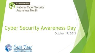 Cyber Security Awareness Day