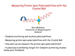 Measuring Proton Spin- Polarizabilities  with the Crystal  Ball