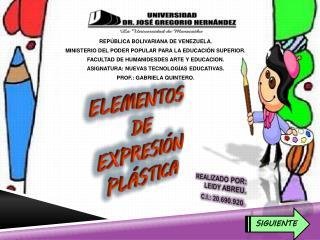 REPÚBLICA BOLIVARIANA DE VENEZUELA. MINISTERIO DEL PODER POPULAR PARA LA EDUCACIÓN SUPERIOR.