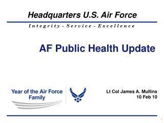 AF Public Health Update