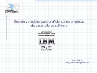 Modelos para la eficiencia en el desarrollo de software
