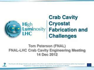 Crab Cavity Cryostat Fabrication and Challenges