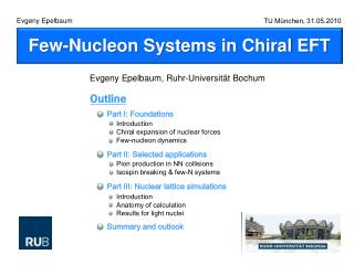 Few-Nucleon Systems in  Chiral  EFT