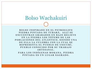 Bolso  Wachakuiri