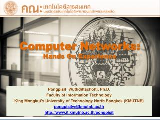 Computer Networks: Hands On Experience