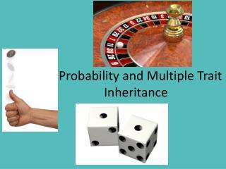 Probability and Multiple Trait Inheritance