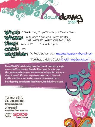 In-Balance Yoga and Pilates Center 2341 Boston Rd, Wilbraham, Ma 01095