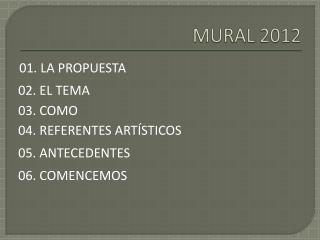 MURAL  2012