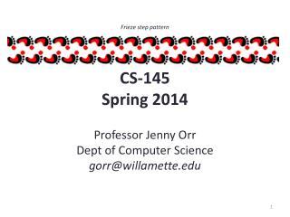 CS-145 Spring 2014