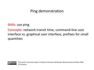 S kills : use ping