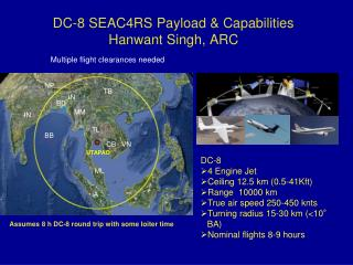 DC-8 SEAC4RS Payload & Capabilities Hanwant Singh, ARC