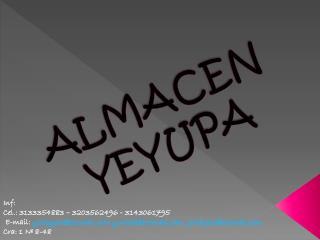 ALMACEN YEYUPA