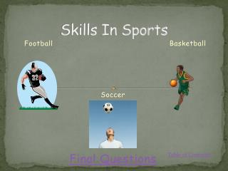 Skills In Sports