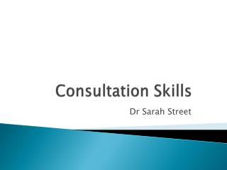 Consultation  Skills