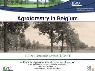 Agroforestry in Belgium