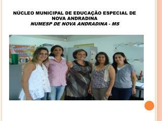 NÚCLEO MUNICIPAL DE EDUCAÇÃO ESPECIAL DE NOVA ANDRADINA NUMESP DE NOVA ANDRADINA - MS