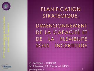 Planification strat�gique: