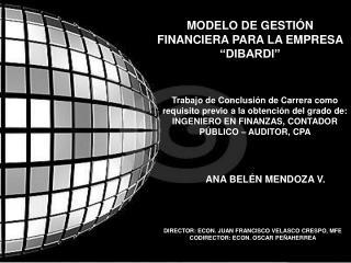 ANA BELÉN MENDOZA V.
