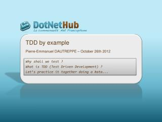 TDD by  example