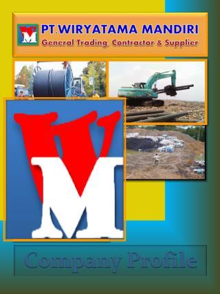 PT.WIRYATAMA MANDIRI General Trading, Contractor & Supplier