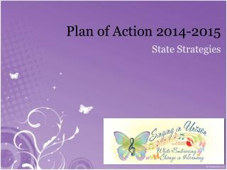 Plan of Action 2014-2015