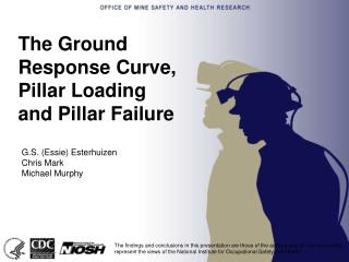 The Ground Response Curve, Pillar Loading and Pillar Failure