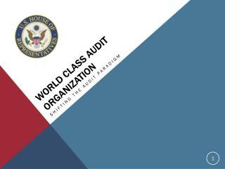 World  Class Audit  Organization