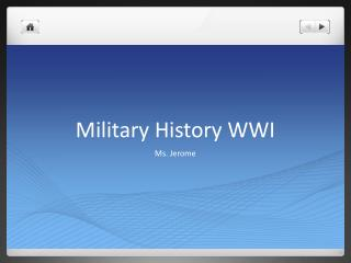 Military History WWI