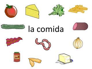 l a comida