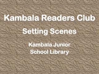 Kambala Readers  Club Setting  Scenes Kambala Junior  School Library