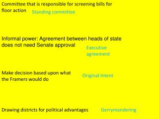 Committee that is responsible for screening bills for floor action