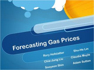 Forecasting Gas Prices