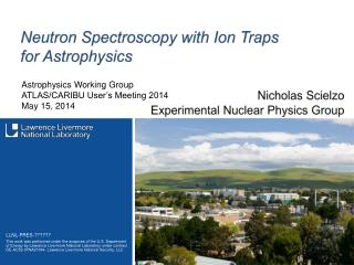 Neutron Spectroscopy with Ion Traps for Astrophysics