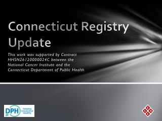 Connecticut Registry Update