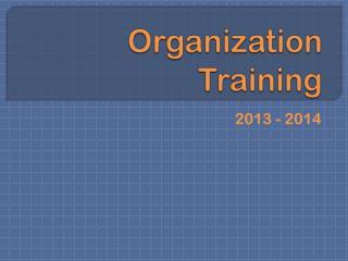 Organization Training