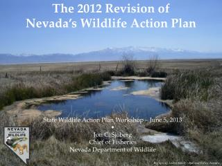 The 2012 Revision  of  Nevada's Wildlife Action Plan
