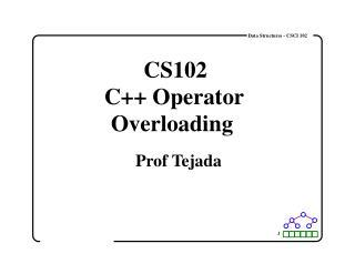 Data Structures - CSCI 102