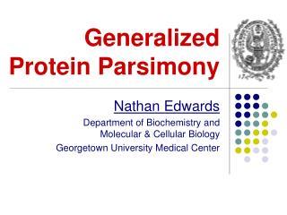 Generalized  Protein  Parsimony