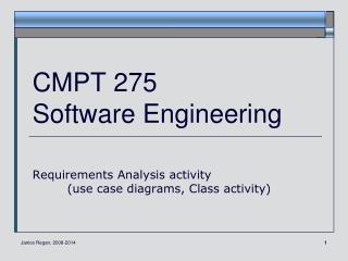 CMPT 275 Software Engineering