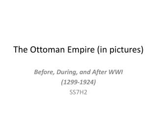 The Ottoman Empire (in pictures)