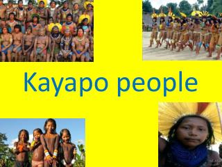 Kayapo people