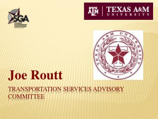 Transportation services advisory Committee