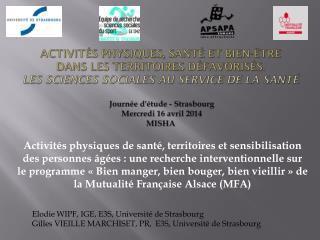 Elodie WIPF, IGE, E3S, Université de Strasbourg